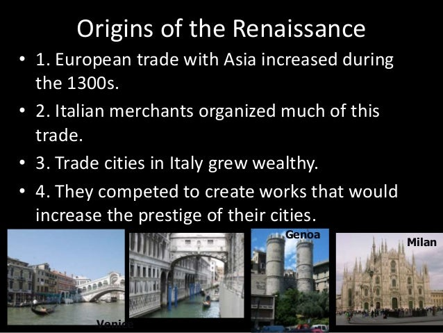Renaissance Reformation and Enlightenment Details