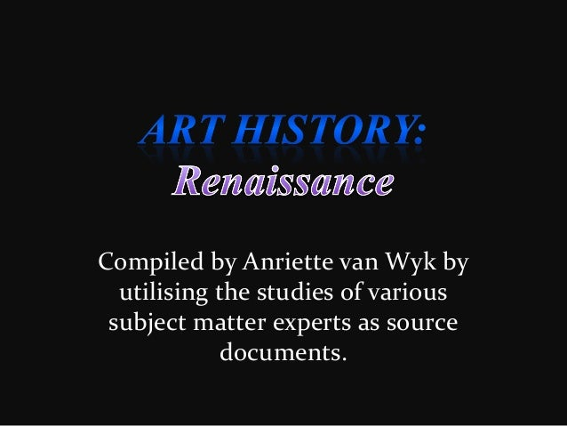 Compiled by Anriette van Wyk by utilising the studies of various subject matter experts as source documents.