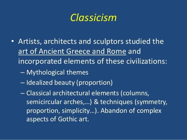 Renaissance art 6 classicism artists toneelgroepblik Images