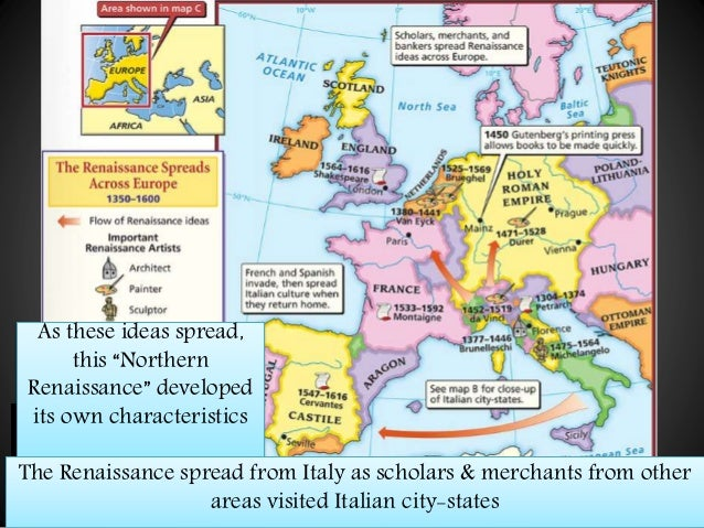 renaissance comparison italian and northern europe The italian renaissance was  the italian city  the invaders took the ideas of the italian renaissance back to northern europe and sparked what is known as.