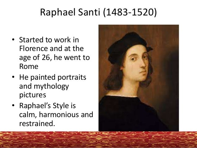 raphael sanzio essay Raphael quotes from brainyquote, an extensive collection of quotations by famous authors, celebrities, and newsmakers.