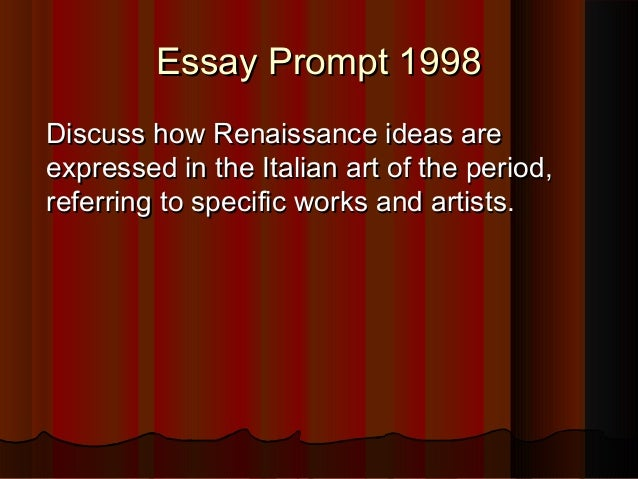humanism in the renaissance essay