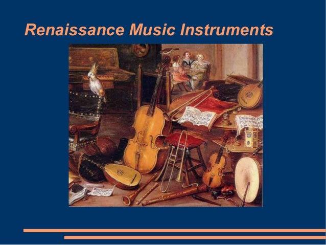 Renaissance Music Instruments