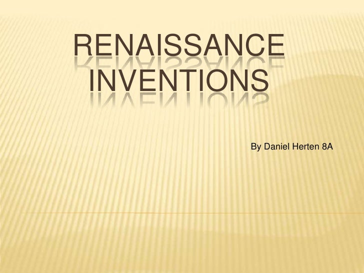 renaissance science inventions - 728×546
