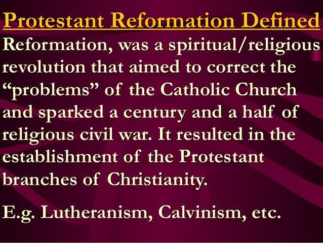 protestant reformation ended relationship