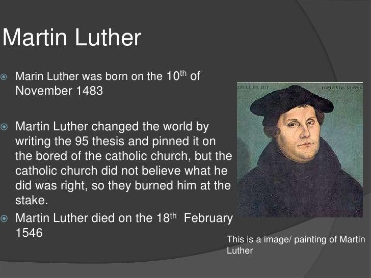 martin luther henry viii Henri viii (né henry,  une nouvelle théologie politique de l'obéissance à la couronne qui reflétait la nouvelle interprétation par martin luther du.