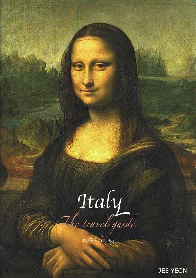 Italy !e travel guide JEE YEON Published in 1653
