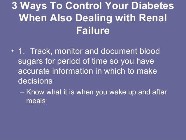 4 Steps to Manage Your Diabetes for Life