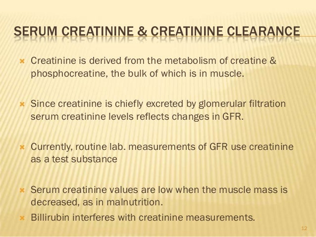 a experiment of determination of creatinine concentration in 24 hour urine samples The complete urinalysis and urine tests wwwrnorg®  over the course of a 24-hour period, the composition and concentration of urine.