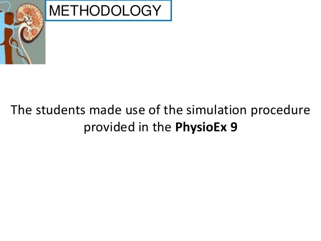 Renal System Physiology Physioex 9 0 Activity Coursework Example