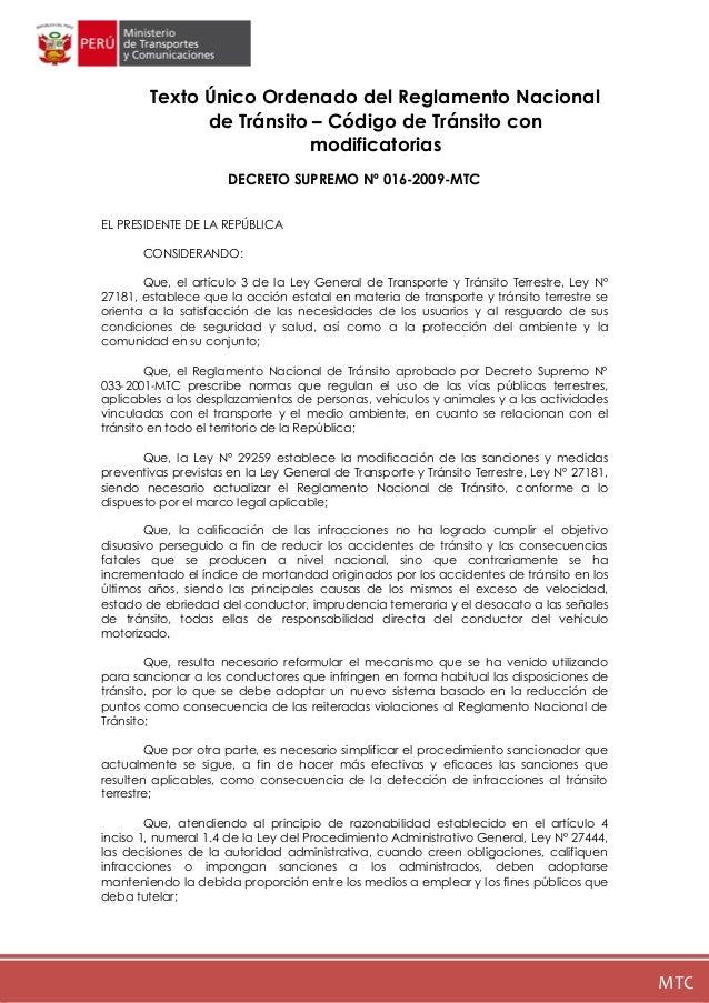 REGLAMENTO DE TRANSITO PERU DOWNLOAD