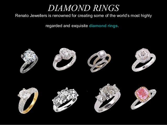 DIAMOND RINGS Renato Jewellers is renowned for creating some of the world's most highly regarded and exquisite diamond rin...