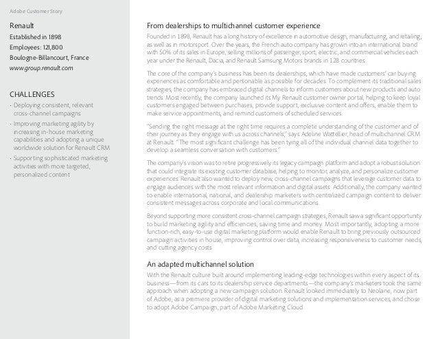 Customer Story: Renault Slide 2