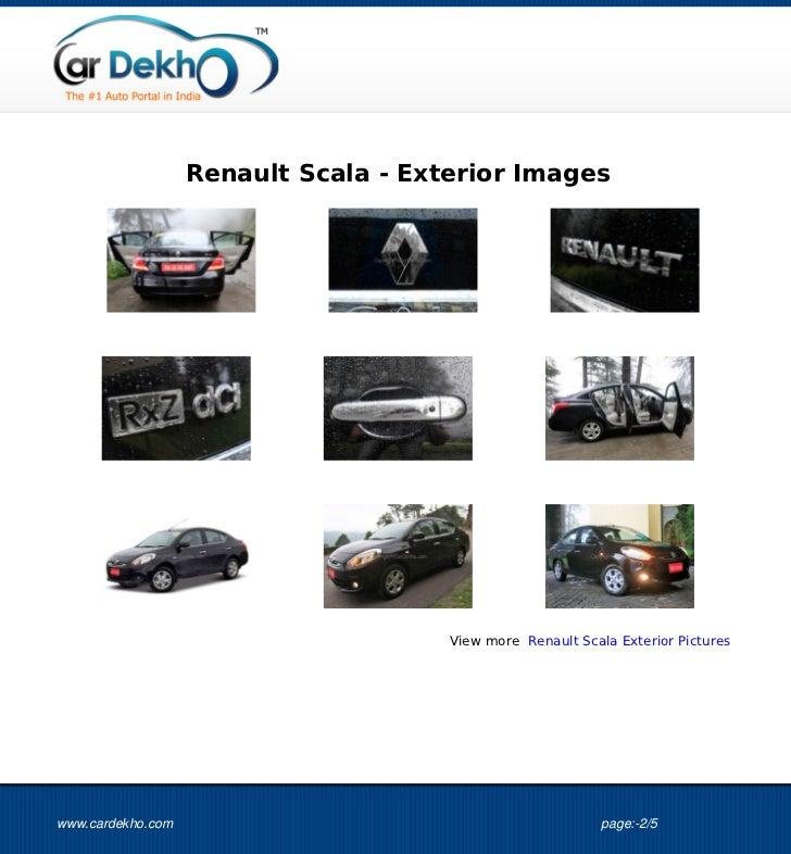 Renault Scala Images Slide 2