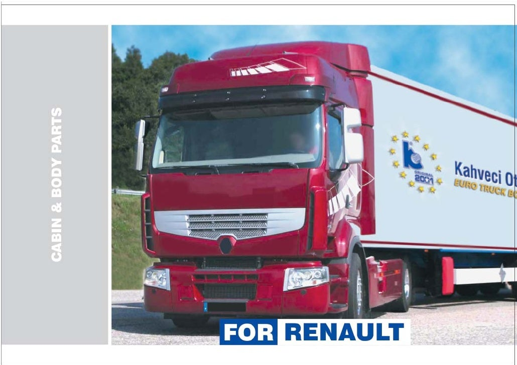 Renault body parts_catalogue