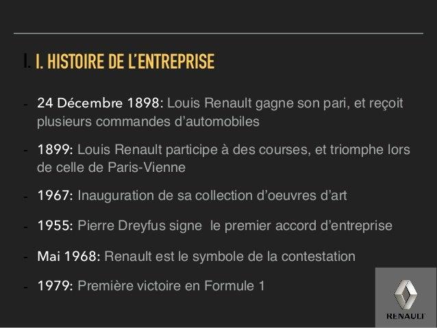 Renault Culture d'Entreprise Slide 3