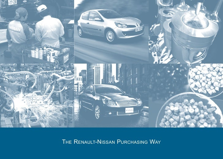 THE RENAULT-NISSAN PURCHASING WAY
