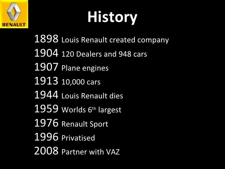 Renault Presentation Slide 3