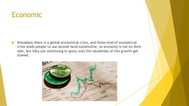 Economic  Nowadays there is a global economical crisis, and these kind of economical crisis leads people to use second ha...
