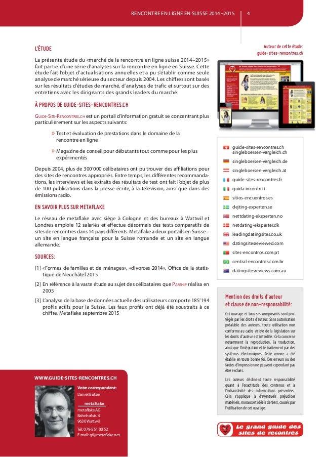 Sites de rencontres en ligne Schweiz