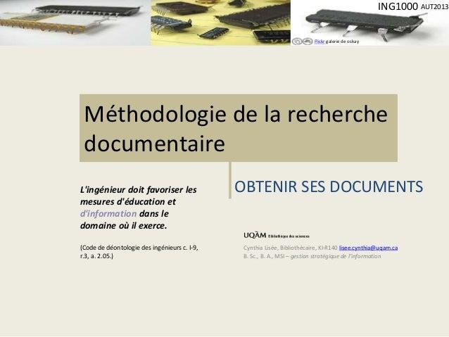 Flickr galerie de oskay  ING1000 AUT2013  Méthodologie de la recherche  documentaire  Cynthia Lisée, Bibliothécaire, KI-R1...