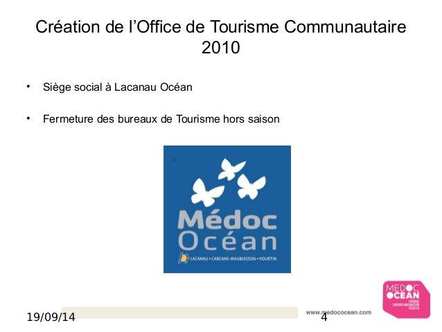 Strat gie d 39 accueil m doc oc an - Office de tourisme de carcans ...