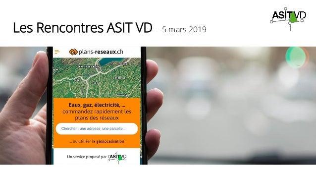 Les Rencontres ASIT VD – 5 mars 2019