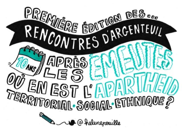 Les Rencontres d'Argenteuil #1 - 10 ans après les émeutes