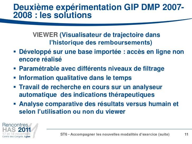 Deuxième expérimentation GIP DMP 2007-2008 : les solutions         VIEWER (Visualisateur de trajectoire dans              ...