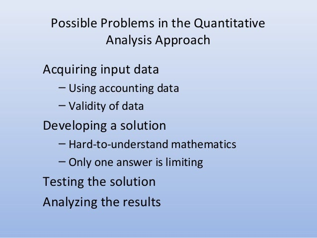 intro to quantitative analysis Introduction to quantitative finance an accessible yet rigorous development of many of the fields of mathematics necessary for success in investment and quantitative finance, covering topics applicable to portfolio theory, investment banking, option pricing.