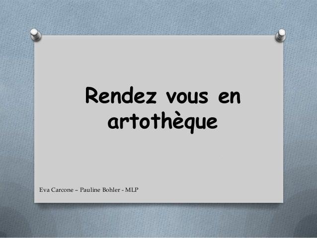 Rendez vous en artothèque Eva Carcone – Pauline Bohler - MLP