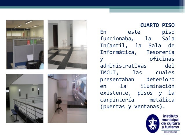 Rendici n de cuentas instituto municipal de cultura y for Instituto puerta de cuartos