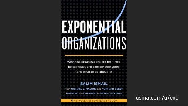 e se o segredo exponencial não for a tecnologia?