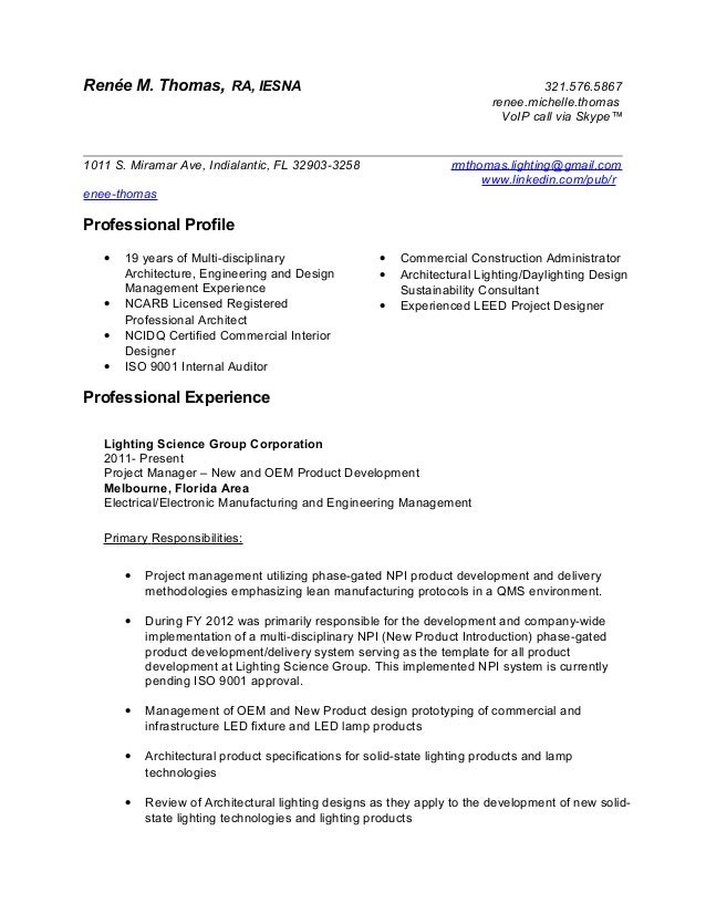 voip project manager resume sample