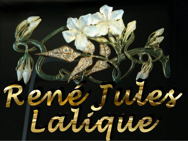 René Jules Lalique (1860 – 1945) was a French glass designer known for his creations of perfume bottles, vases, jewellery,...