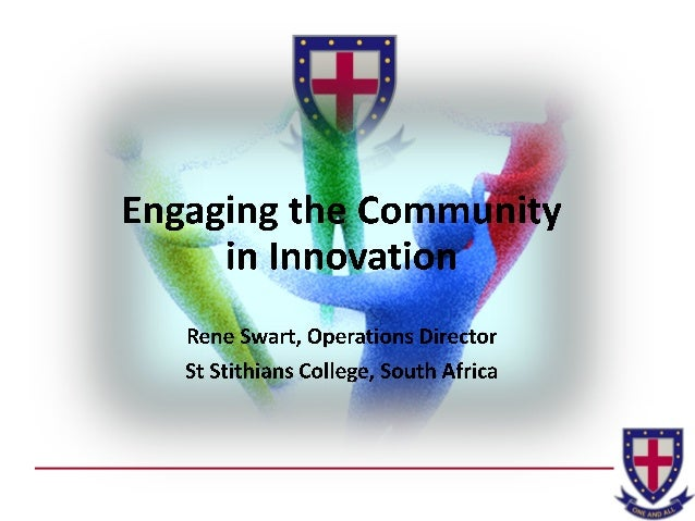 Rene Swart: Engaging the Community in Innovation