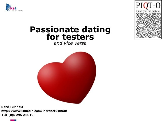 Dating tester