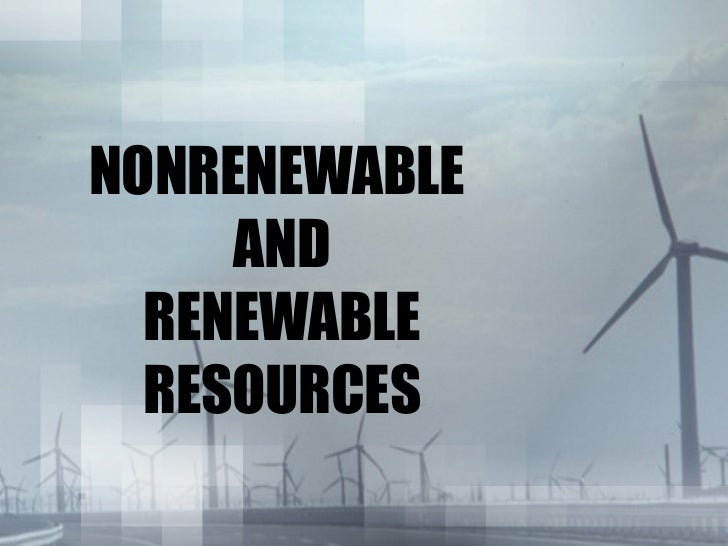Why Is Natural Gas Nonrenewable Resource