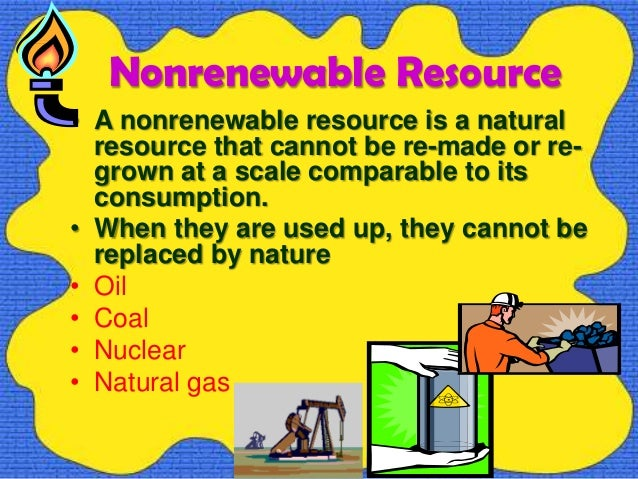 Natural Resources Renewable Energy