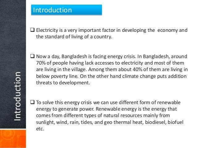 Renewable energy Slide 3