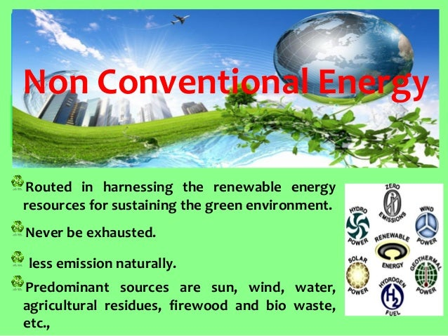 renewable resources and our environment essay Read this essay on renewable energy presentation outline come browse our large digital warehouse of free sample essays environment and our health renewable.