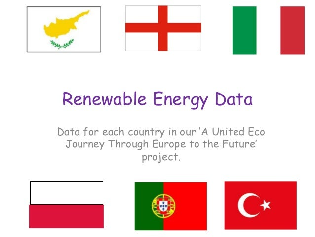 Renewable Energy Data Data for each country in our 'A United Eco Journey Through Europe to the Future' project.