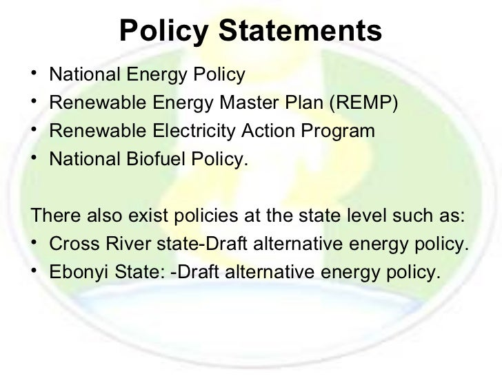 renewable energys lacking policy Simon müller, adam brown, and samantha Ölz information paper renewable energy policy considerations for deploying renewables 2011 november.