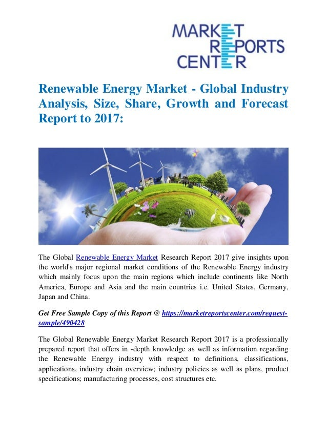 an analysis of alternative energy soources An overview of the environmental impacts of renewable energy sources such as wind, solar, geothermal, and biomass.