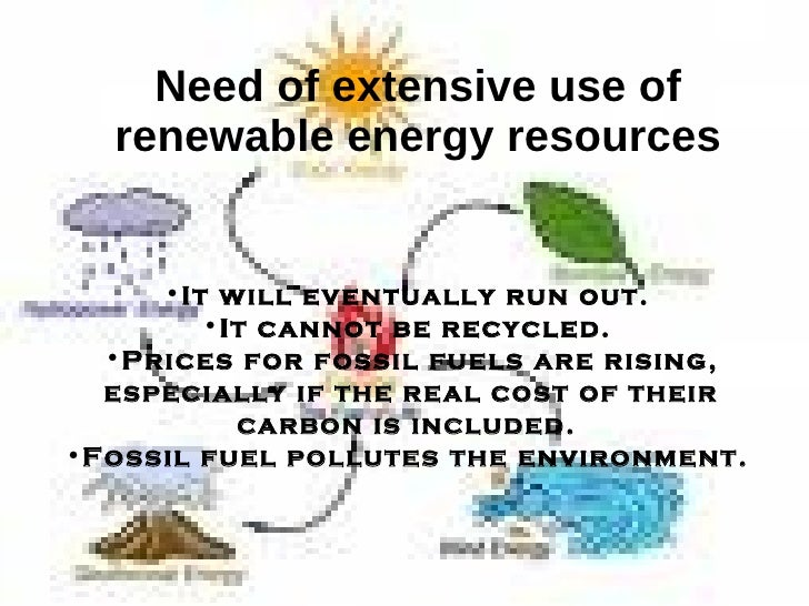the need for renewable energy sources A secondary school revision resource for gcse geography on energy, including definitions and examples of renewable and non-renewable energy resources.
