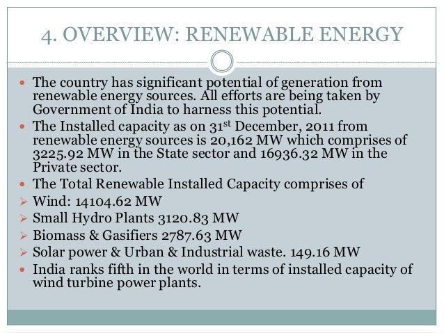 energy scenario in india pdf