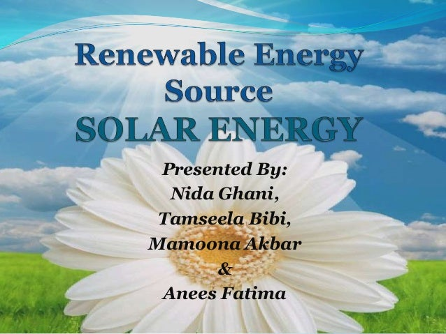 Presented By: Nida Ghani, Tamseela Bibi, Mamoona Akbar & Anees Fatima