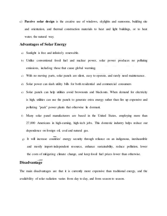 solar panel research paper Policy research working papers a review of solar energy: markets, economics and policies share solar energy has experienced phenomenal growth in.