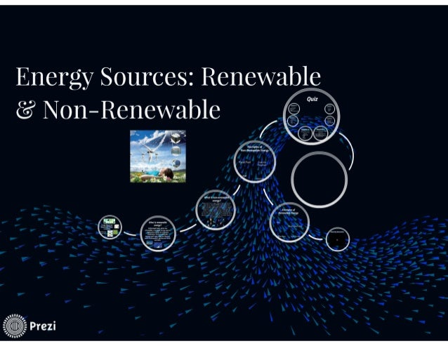 Renewable  U0026 Non