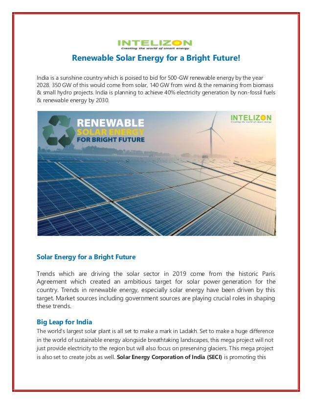 Solar power projects jobs in india